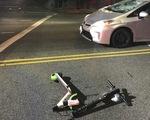 Va chạm với xe tải, nam thanh niên thiệt mạng khi đi scooter điện ở Paris, Pháp