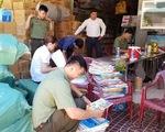 Tạm giữ hơn 72.000 cuốn sách giáo khoa nghi in lậu