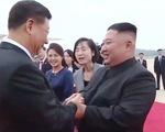 Triều Tiên - Trung Quốc thể hiện quan hệ nồng ấm