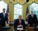 Tổng thống Trump áp thêm lệnh trừng phạt nặng Iran