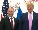 Tổng thống Nga Putin gặp Tổng thống Mỹ Donald Trump bên lề G20