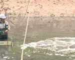 Sông Tô Lịch giảm mùi hôi sau hơn 2 tuần làm sạch bằng công nghệ Nhật Bản