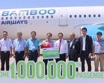 Bamboo Airways đón hành khách thứ 1 triệu
