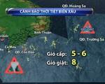 Áp thấp nhiệt đới gần Biển Đông mạnh thành bão