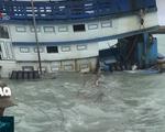 Bình Thuận: Tàu chở 70.000 lít dầu bị chìm ở đảo Phú Quý