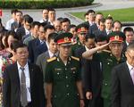 Dâng hương tưởng niệm các liệt sỹ quân tình nguyện Việt Nam tại Campuchia