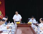 Đoàn Tiểu ban Văn kiện Đại hội XIII làm việc với Ban Tuyên giáo Trung ương