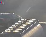 Báo động tình trạng xe lùi và đi ngược chiều trên cao tốc