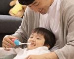 Nhật Bản sử dụng bàn chải nhạc khuyến khích trẻ nhỏ đánh răng