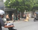 Chặn xe vi phạm, Cảnh sát giao thông Hải Phòng bị đâm trực diện, hất văng