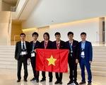 4 thí sinh thi Olympic Tin học quốc tế giành 2 HCV, 1 HCB, 1 HCĐ
