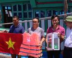 Hải quân hỗ trợ ngư dân ven biển