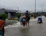Nhiều nơi ở Phú Quốc, Kiên Giang vẫn còn ngập