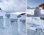 Nghiên cứu phát hiện ra tuyết trên Bắc cực chứa đầy hạt vi nhựa