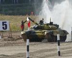 Việt Nam giành vị trí thứ 2 chung kết cuộc thi xe tăng quốc tế