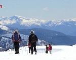 Mùa đông ít tuyết ở dãy núi Andes