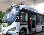 Mục sở thị xe bus không người lái của Singapore