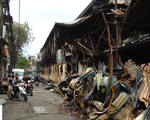 Nhà xưởng công ty Rạng Đông cháy do chập điện