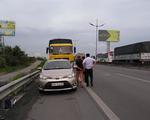 Tai nạn trên cao tốc TP.HCM – Trung Lương, giao thông ùn ứ