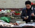CPI tháng 8 của Trung Quốc tăng 2,8#phantram so với tháng trước