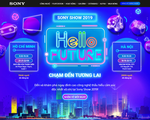 Công bố lịch Sony show 2019