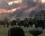 Máy bay không người lái tấn công gây cháy nhà máy dầu của Saudi Arabia