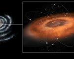 Siêu hố đen giữa dải ngân hà bắt đầu 'nuốt chửng' vật chất với tốc độ chưa từng có