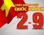Lãnh đạo nhiều quốc gia chúc mừng Quốc khánh Việt Nam