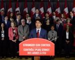 Thủ tướng Canada cam kết siết chặt kiểm soát súng đạn