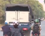 Bất hợp lý tại đường gom Đại lộ Thăng Long