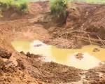 Hòa Bình: Tái diễn tình trạng khai thác vàng trái phép