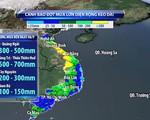 Cảnh báo đợt mưa lũ lớn ở miền Trung