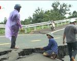 Gia Lai: Đường gần 250 tỷ đồng chờ nghiệm thu bị sụt lún nghiêm trọng