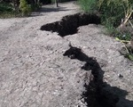 Gia tăng sụt lún, sạt lở đất vào mùa khô