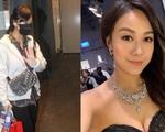 Cuối cùng Á hậu Hong Kong cũng đã ra khỏi nhà sau 1 tháng lẩn tránh truyền thông