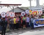 Chiến dịch không uống rượu bia khi lái xe tại Thái Lan