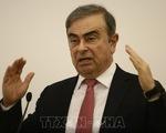 Cựu Chủ tịch Nissan xuất hiện trong cuộc họp báo tại Lebanon