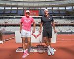 Rafael Nadal hạnh phúc khi sánh ngang kỷ lục với Roger Federer