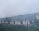 Cháy lớn tại Khu công nghiệp Hòa Xá, gần 1.000 m2 nhà xưởng bị thiệt hại nặng