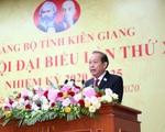 Phó Thủ tướng Trương Hòa Bình yêu cầu Kiên Giang tiếp tục thực hiện 3 đột phá chiến lược