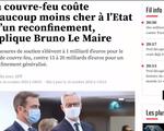 Lệnh giới nghiêm chống dịch COVID-19 - Biện pháp ít tổn thất cho nền kinh tế Pháp