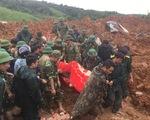 CẬP NHẬT Vụ sạt lở khiến 22 quân nhân mất tích: Tìm thấy thi thể của 12 chiến sĩ