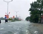 Mưa lớn tiếp diễn ở Quảng Bình, Hà Tĩnh, lũ các sông ở mức cao