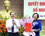 Bà Phạm Thị Thanh Trà nhận quyết định bổ nhiệm Thứ trưởng Bộ Nội vụ