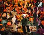 'Ma quỷ' tràn ngập phố Hàng Mã dịp Halloween