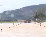 Bình Định: Nước lũ chia cắt tuyến giao thông liên huyện