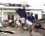Sau bão, hàng ngàn người Quảng Ngãi chen lấn đi mua ngói - ảnh 5