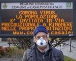 Số ca mắc COVID-19 tăng mạnh, thủ đô Italy áp đặt lệnh bắt buộc đeo khẩu trang