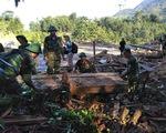 Hơn 500 cán bộ, chiến sỹ phối hợp tìm kiếm 12 người mất tích ở Trà Leng
