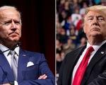Ứng cử viên Joe Biden dẫn trước ông Trump 14 điểm